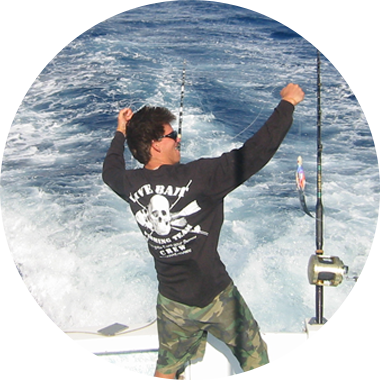 Learn more about the Live Bait Charters crew in Hawaii
