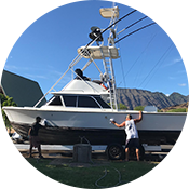 Best charter boat navigational equipment in Hawaii